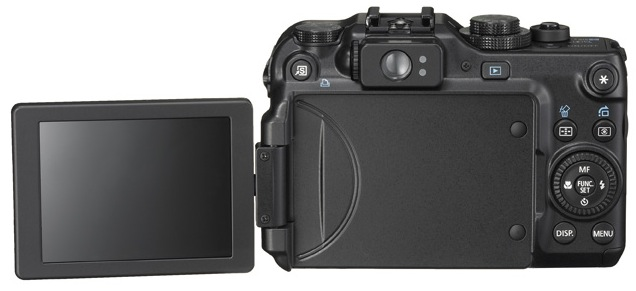 Canon PowerShot G11 Digital Camera - Back