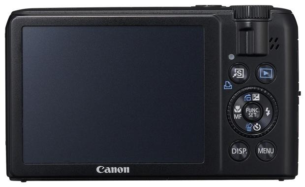 Canon PowerShot S90 Digital Camera - Back