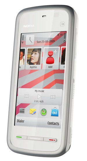 Nokia 5230 Cell Phone - white