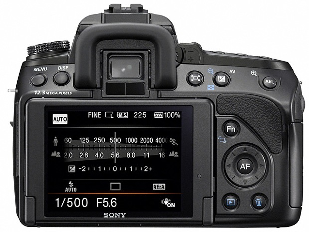 Sony DSLR-A500 Digital Camera