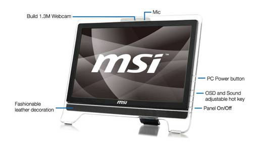 MSI WIND TOP AE2010