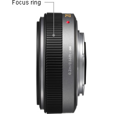 Panasonic LUMIX G 20mm/F1.7 ASPH Lens