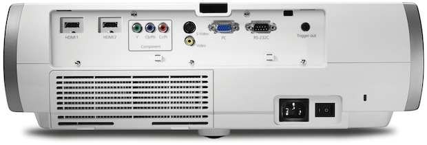 Epson PowerLite Home Cinema 8100 Projector - Back