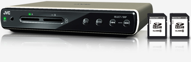 JVC CU-VS100 HD Media Player