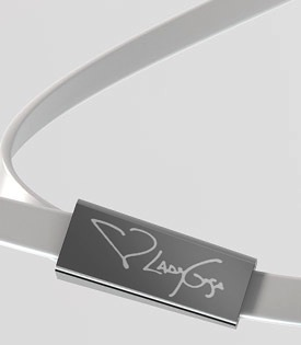 Monster Heartbeats by Lady Gaga Signature - Silver