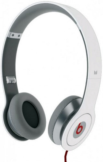 Monster Beats Solo Headphones - White