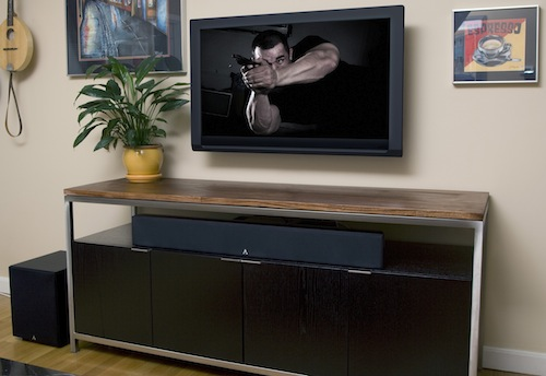 Atlantic Technology FS-7.0 Surround Bar in Room