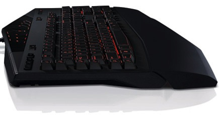 Alienware TactX Gaming Keyboard - Red profile