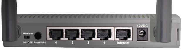 Fonera 2.0n Wi-Fi Router - Back