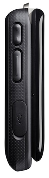 Motorola Barrage Submersible Cell Phone - Left Side