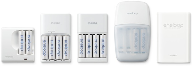 Sanyo eneloop Rechargeable Battery Chargers