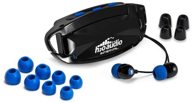 H2O Audio Interval Waterproof Headphone System