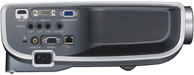 Canon REALiS WUX10 Mark II Multimedia LCOS Projector - Side