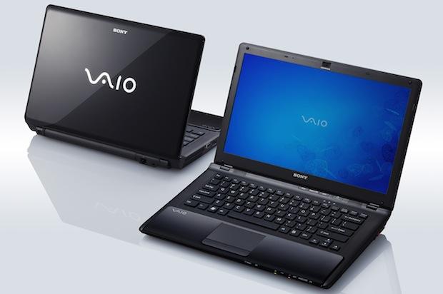 Sony VAIO CW Series Notebooks - Black