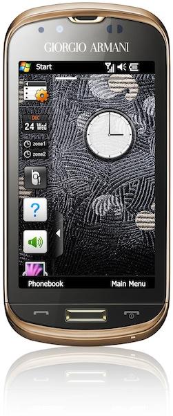 Giorgio Armani-Samsung B7620 Smartphone