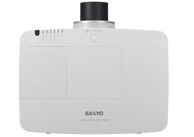 Sanyo PLC-XM150 and PLC-XM100 Projectors - Top