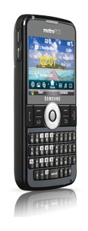 Samsung Code SCH-i220 Smartphone - Angle