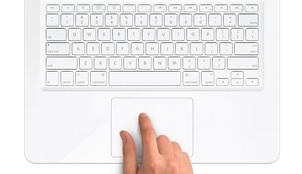 Apple White MacBook MC207LL/A Multi-Touch TrackPad