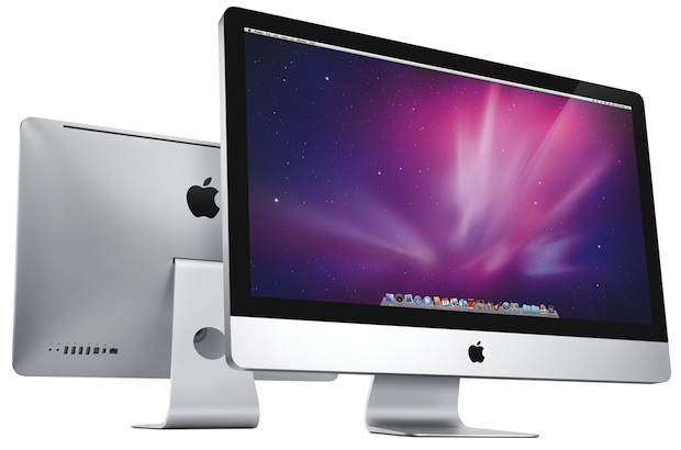 Apple iMac - Front and Back
