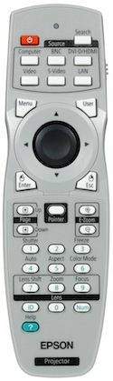 Epson PowerLite Pro Z8000WUNL Remote Control