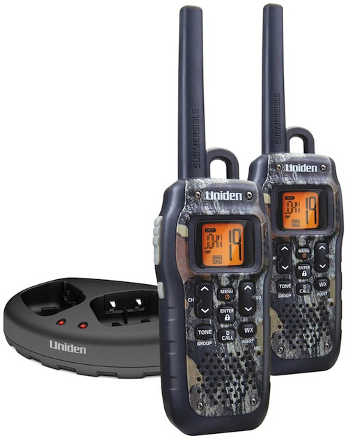 Uniden GMR 2875-2CK Waterproof, Floating Two-Way Radio