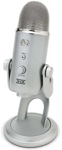 Blue Microphones Yeti THX Certified USB Condenser Mic