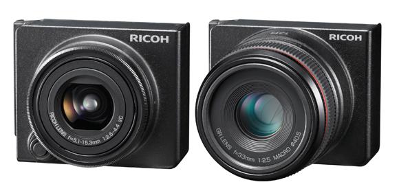 Ricoh GXR Lenses