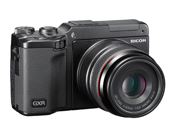 Ricoh GXR with 33mm f/2.5 macro lens