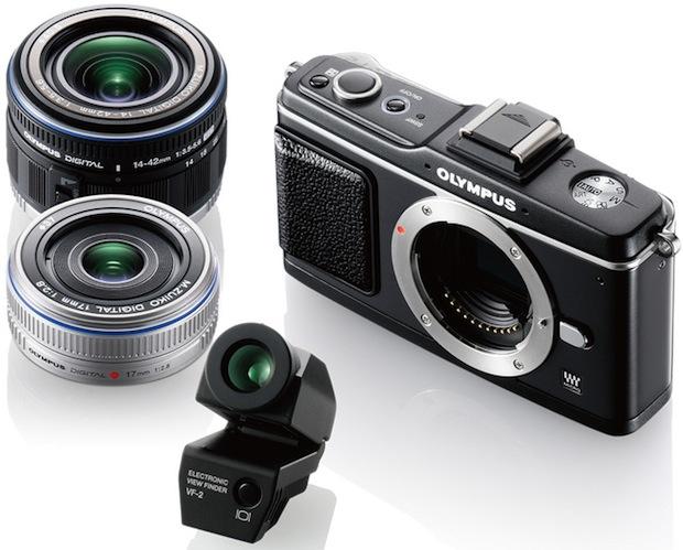 Olympus PEN E-P2 Lenses