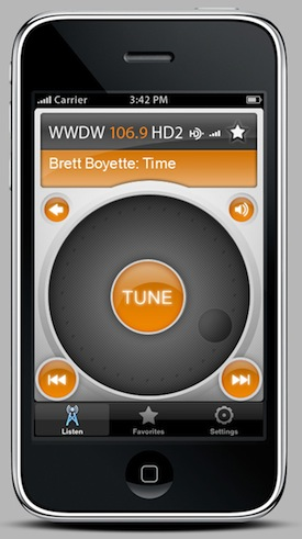 HD Radio iPhone App