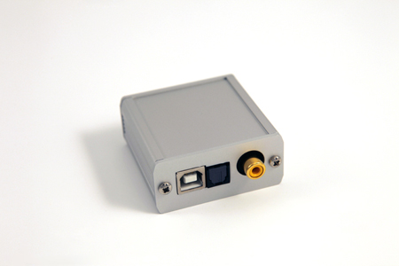 Lindemann USB-DDC 24/96 Digital-Digital-Converter - Back