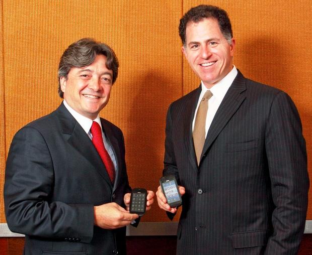 Joao Cox and Michael Dell