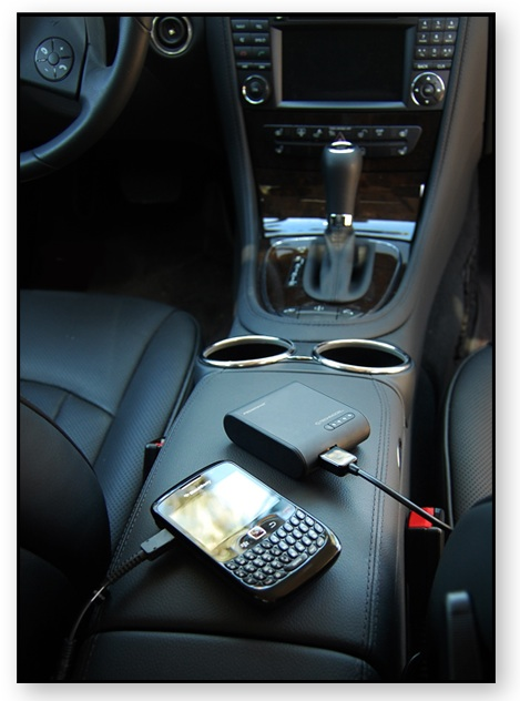 Technocel PowerPak in Car