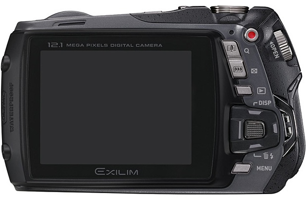 Casio EX-G1 EXILIM Digital Camera - Back