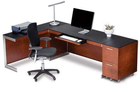 BDI Sequel Office Furniture - Natural Stained Cherry