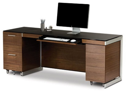 BDI Sequel Office Furniture - Natural Stained Walnut