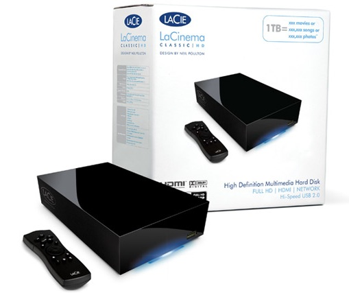 LaCie LaCinema Classic HD Media Player