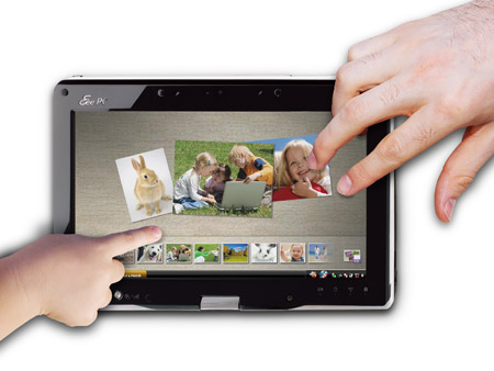 ASUS Eee PC T91MT Multi-touch Netbook Screen