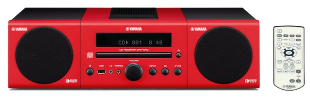 Yamaha MCR-040 - Red