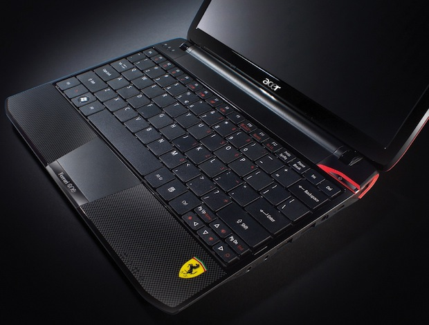 Acer Ferrari One Notebook Keyboard