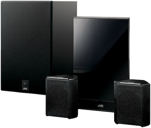 JVC TH-BA3 wireless speakers