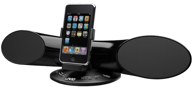 JVC XS-SR3 iPod Speaker Dock Vertical