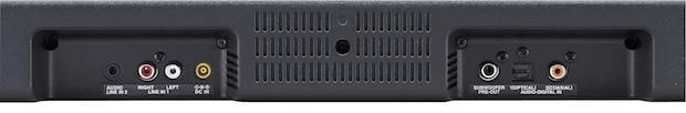 Sharp HT-SB500 SoundBar Input Jacks