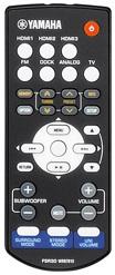 Yamaha SR-300 Receiver Remote Control