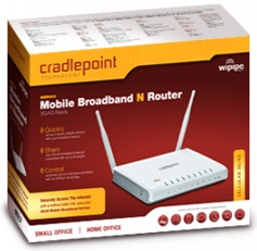 CradlePoint MBR900 Mobile Broadband N Router Packaging