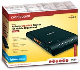 CradlePoint MBR1200 Failsafe Gigabit N Router Packaging