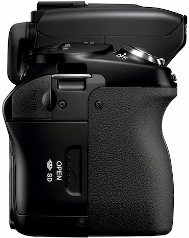 Sony DSLR-A450 Digital Camera - Side
