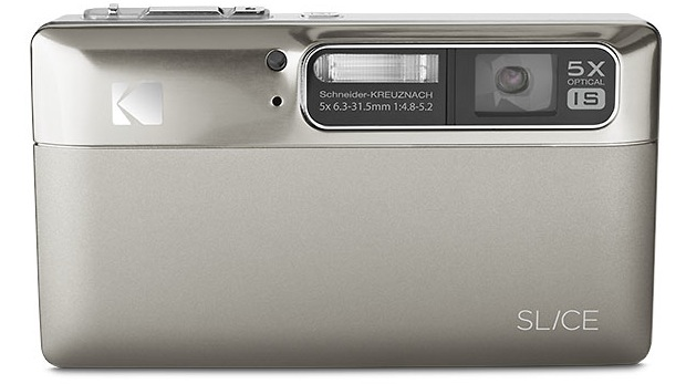 KODAK SLICE Touchscreen Digital Camera - Nickel
