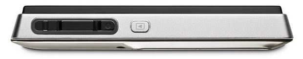 KODAK SLICE Touchscreen Digital Camera - Nickel - Top