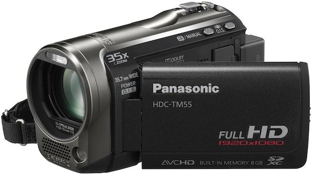 Panasonic HDC-TM55 Camcorder